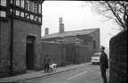 Smithy Lane, 1967, gates on left led to blacksmiths yard